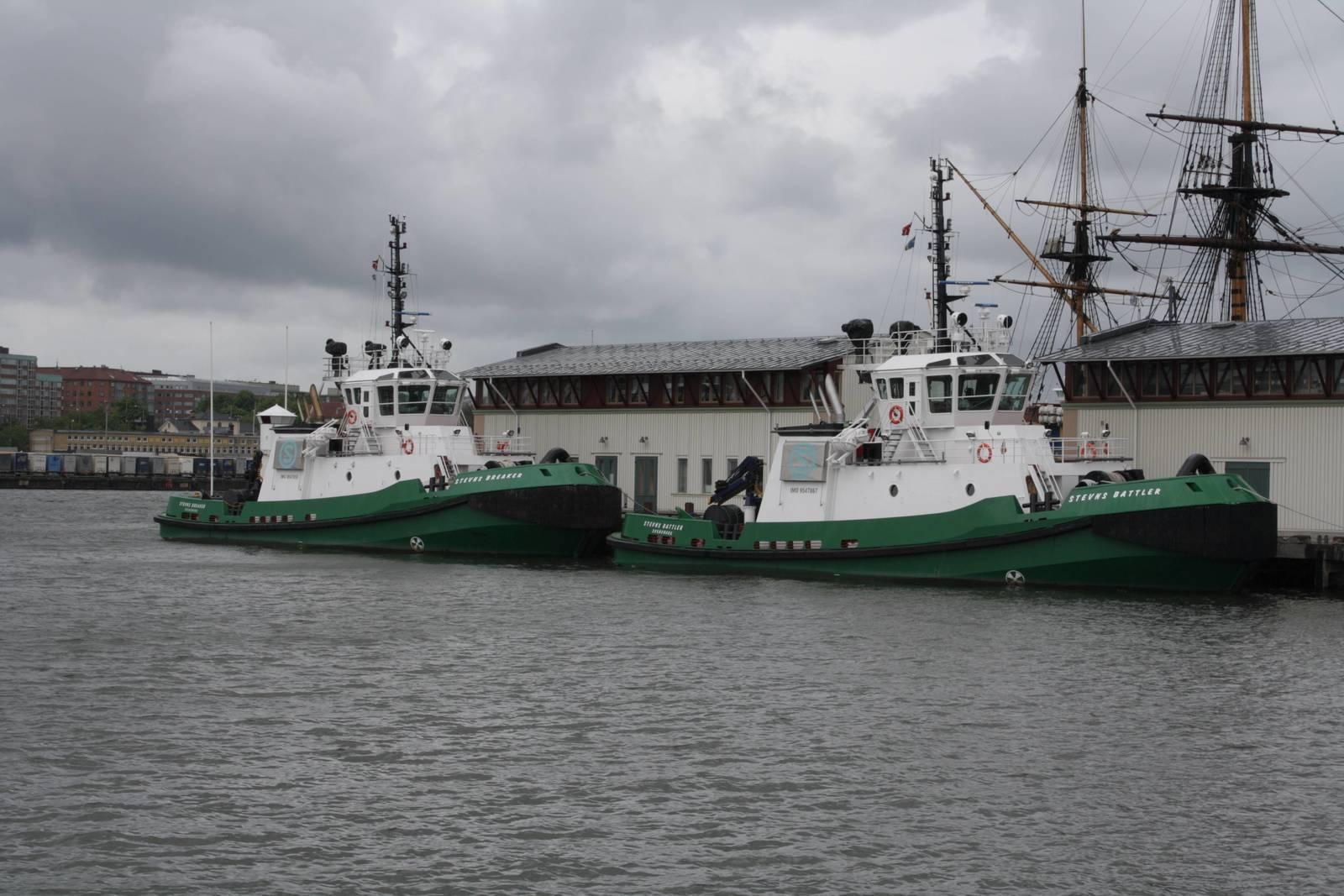 Tug Ship-Set supply for Stevns