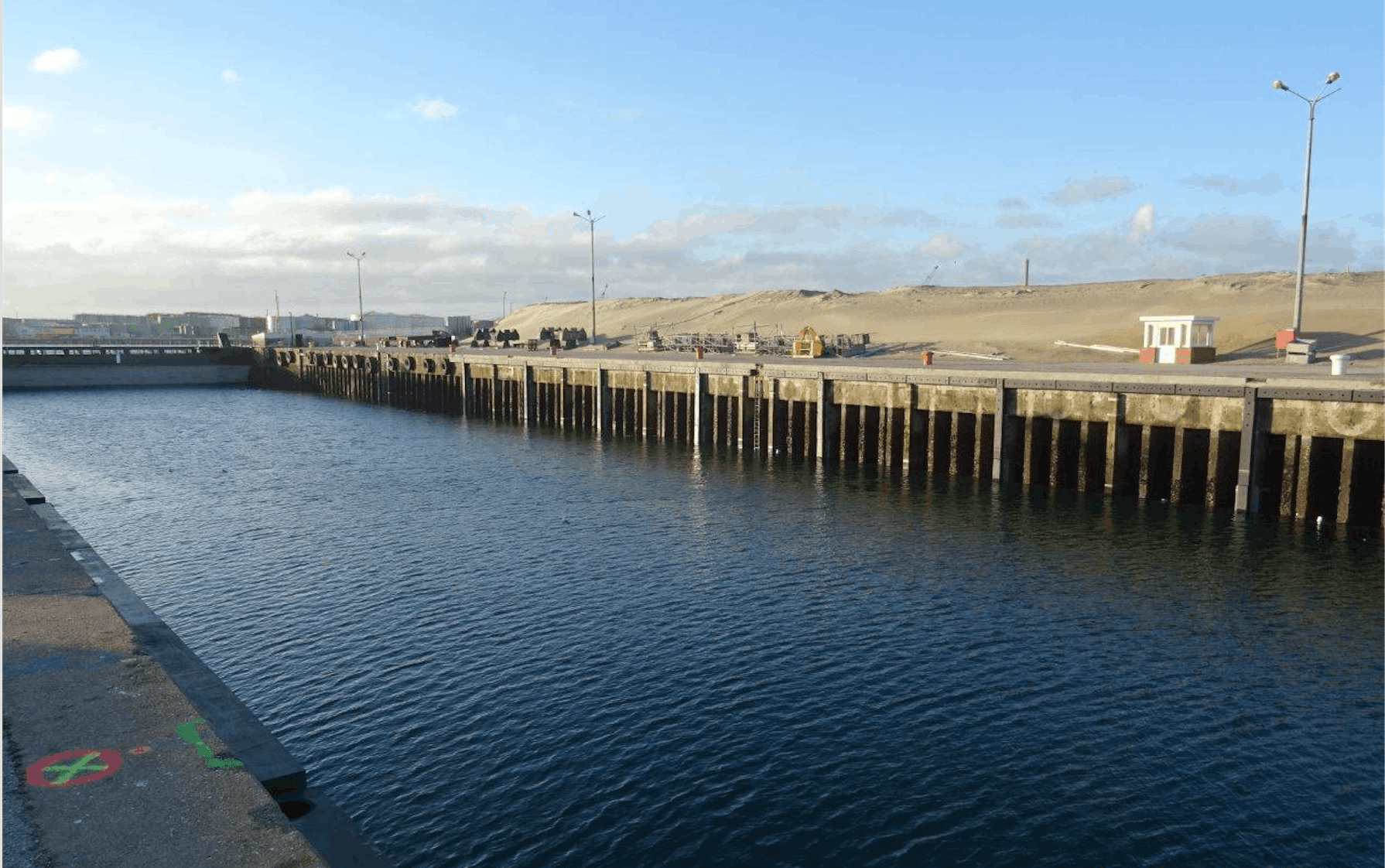Port of Dunkerque Quayside Installation