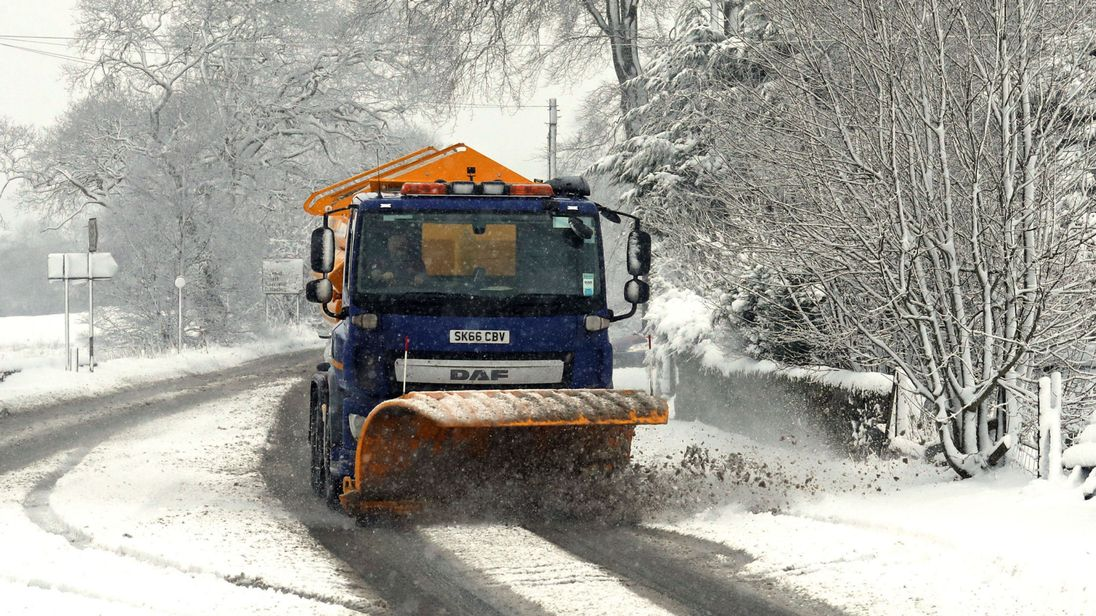 Denmark Snow Plough Contract